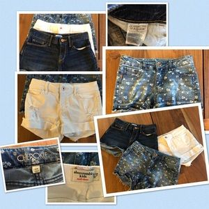 Other - 🦋Set of 3 Girls Jean Shorts!🦋